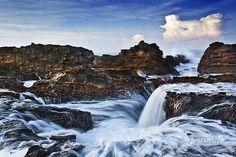 Sawarna - Banten Java, Waterfall, Public, Culture, Dreams, Island, Explore, Country, World
