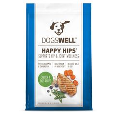 Dogswell Happy Hips Chicken and Oats Recipe Dry Dog Food lb Bag *** Visit the image link more details. (This is an affiliate link and I receive a commission for the sales) Best Dog Food, Dry Dog Food, Soy Chicken, Chicken Recipes, Dog Food Reviews, Dinner Bowls, Oats Recipes, Healthy Recipes, Essential Fatty Acids