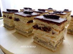 Пляцок «Трембита» My Recipes, Sweet Recipes, Cooking Recipes, Favorite Recipes, Recipies, Hungarian Cake, Russian Desserts, Traditional Cakes, Homemade Cakes