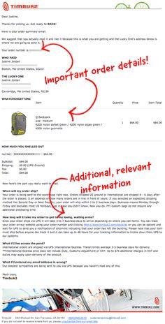 Timbuk2 transactional email #emailmarketing #emaildesign #emailinspiration