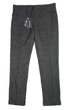 Patrizia Pepe Womens Dress Pants Size 28 US  42 EU Regular Black Cotton *** See this great product.