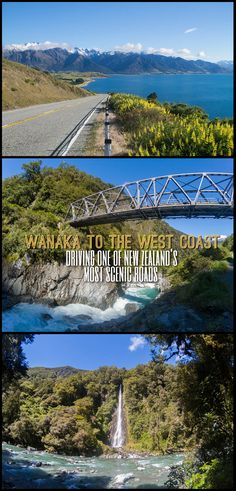Driving from Wanaka to the West Coast, one of the most scenic roads in New Zealand. Take in the sights of Mount Aspiring National Park!