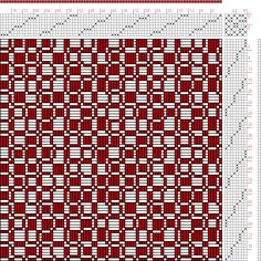 Hand Weaving Draft: Figure 1094a, A Handbook of Weaves by G. H. Oelsner, 8S, 8T - Handweaving.net Hand Weaving and Draft Archive