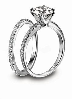 Precious Platinum Wedding Jewelry Photos on WeddingWire. Not a huge solitare fan but this i like
