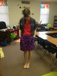 Josh Cornwell and Lauren Kruse: Teacher Outfit Tuesday