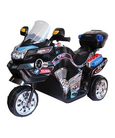 Take a look at this Black FX 3 Motorcycle Ride-On on zulily today!