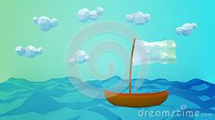 (C) Celia Ascenso - Lonely Boat Greeting Card.