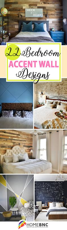 Best Accent Wall Color for Bedroom. Best Accent Wall Color for Bedroom. Calming Colors White and Dark Brown Furniture with Accent Wooden Accent Wall, Accent Wall Decor, Accent Wall Designs, Accent Wall Colors, Stone Accent Walls, Bedroom Wall Colors, Accent Wall Bedroom, Decorating Your Home, Diy Home Decor
