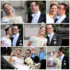 """R4R's """"Couples I Ship"""":Princess Victoria and Prince Daniel  Together Since:2002 (married 2010)  Next Step: Ruling Sweden Together"""