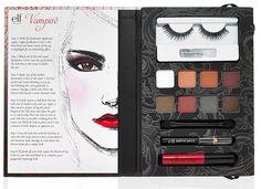 ELF Essential Vampire Beauty Book Palette #halloween