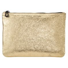 I love this Marc Jacobs Pouch in Gold. From the new collection of Target+Neiman Marcus launch.