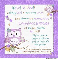 Google Image Result for http://lilduckduck.com/wp-content/uploads/2012/05/Cute-Hoot-Owls-Baby-Shower-Girl-Purple-Teal-invitation.jpg