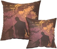 Horror Decor - Night Walkers Pillow
