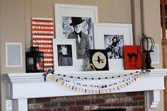 Mantel  Decorations : IDEAS & INSPIRATIONS : DIY Autumn Mantel