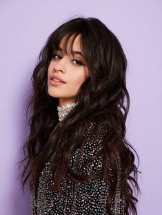 Best Camila Cabello's Hairstyles 22 Best Camila Cabello& Hairstyles - Fazhion Camila And Lauren, Famous Singers, Fifth Harmony, Woman Crush, Brunettes, Girl Crushes, Selena, Makeup Looks, Fringes