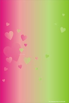 pink green wallpaper