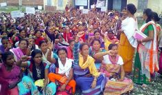 Anganwadi Workers Protest in Udalguri for Resolution of Their Long-standing Demands