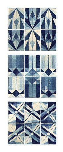 Image result for shibori on paper