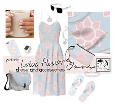 """""""Lotus flower Dress"""" by christy-leigh-1 ❤ liked on Polyvore"""