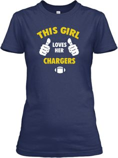 This Mommy loves a girl who loves the Chargers. Hopefully yougetone of the autographed T's