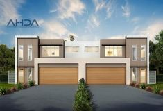 Full size of eco house designs nz design australia magazine nsw by architectural from ideas scenic Plan Duplex, Duplex House Plans, Modern House Plans, House Floor Plans, Townhouse Designs, Duplex House Design, Modern House Design, Brisbane, Melbourne