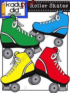 Roller Skates SVG files for scrapbooking cardmaking roller skate ...