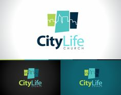 City Life Church - Logo Design Stacked - Qhue Creative