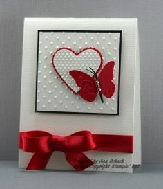 Butterflies of the Heart The Stampin' Schach