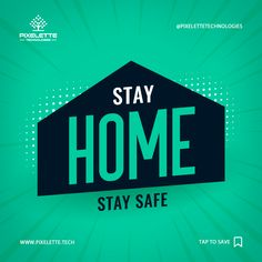 To combat the spread of COVID-19 novel coronavirus one should try their best to stay at home to keep them and others safe.  Stay safe and sound by staying home. #Covid-19 #Coronavirus #Novel_Coronavirus #Stay_Safe #Stay_Home #Self_Quarantine #Saving_the_World #Pixelette_Tech #Save_Pakistan It Service Provider, Data Analytics, Mobile Application, Search Engine Optimization, Stay Safe, App Development, Pakistan, Digital Marketing, Novels