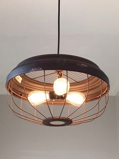 Industrial and Farmhouse all wrapped in one fantastic pendant light! This one gives you three times the light of a pendant with one bulb. With this versatility- you could use over a breakfast table or