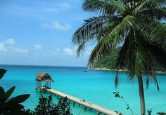Perhentian Islands off the coast of northeastern Malaysia near the Thai border