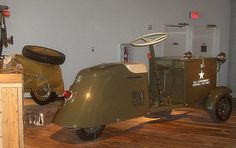 Cushman Package Kar model 69 by Howard33, via Flickr