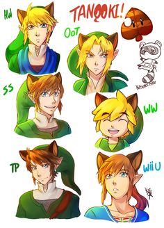The Legend of Zelda by Tanooki