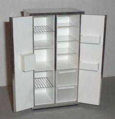 ELF American style fridge freezer - opening | ELF Miniatures