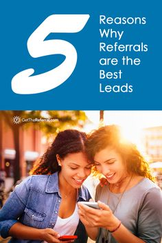 Check out 5 reasons why referrals are the best leads and why this type of lead should be a part of your business. Read the blog post.