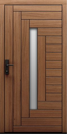 Modern Entrance Door, Main Entrance Door Design, Wooden Front Door Design, Modern Wooden Doors, Modern Door, Wood Doors, House Main Door Design, Flush Door Design, Bedroom Door Design