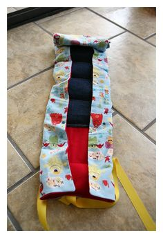 Carseat Cooler Tutorial for those scorching hot carseats....keeps your baby's carseat nice and cool to protect their bums from getting burned on hot buckles.