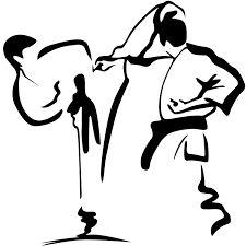 Kumite als Zeichnung/Inspiration.