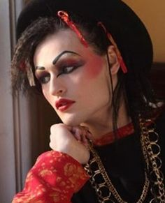 "Douglas Booth as Boy George in ""Worried About the Boy"" on BBC television"