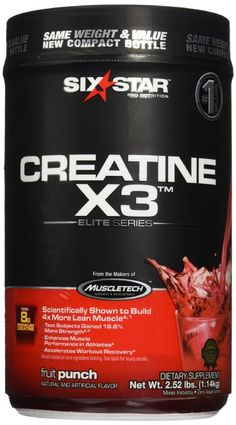 [Deal: $12.78] Six Star Pro Nutrition Creatine X3 (35 Servings) #creatine #bcaa #aminos