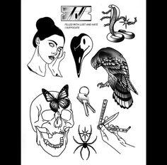 Tattoo Ideas, Tattoo Designs, Tattoo Flash Art, Black Tattoos, Tattos, Afro, Goth, Ipad, Doodles