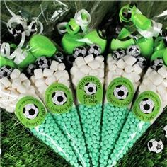 Party Ideas UK Football Party Sweet Cone