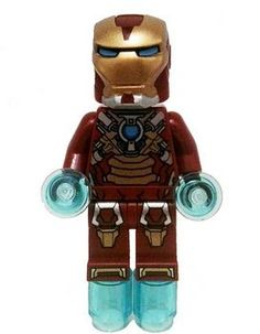 LEGO Iron Man Minifigure 2013