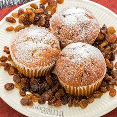 Muffin ricotta e uvetta Ricotta, American Cake, Cake Cookies, Muffins, Breakfast, Recipes, Food, Cupcake, Cakes