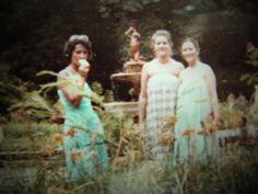 gurias na década de 70, na Redenção em Porto Alegre
