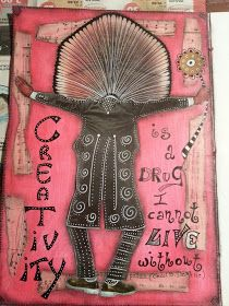 Timeless Rituals: Art Journal: Creativity is a Drug...by Simona Cordara
