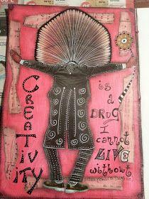 Timeless Rituals: Art Journal: Creativity is a Drug...by Simona Cordara