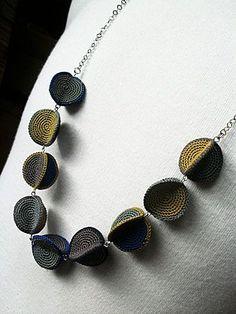 Crochet necklace by jody