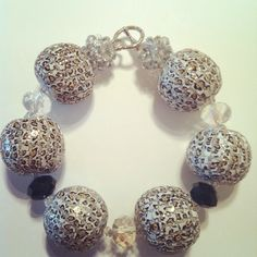 Leopard Glitter Bracelet- tanyagjewelry.tumblr.com