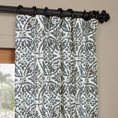 Exclusive Fabrics Catalina Cotton Printed Curtain Panel | Overstock.com Shopping - The Best Deals on Curtains